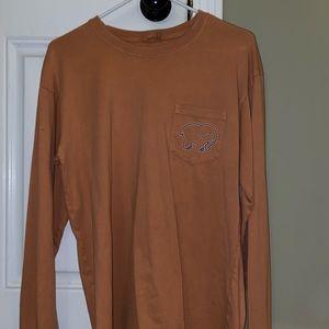 Ivory Ella pale orange long sleeve